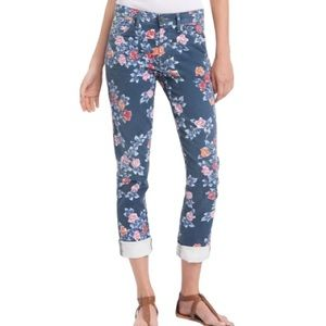 'Citizens of Humanity High Waist Floral Jeans